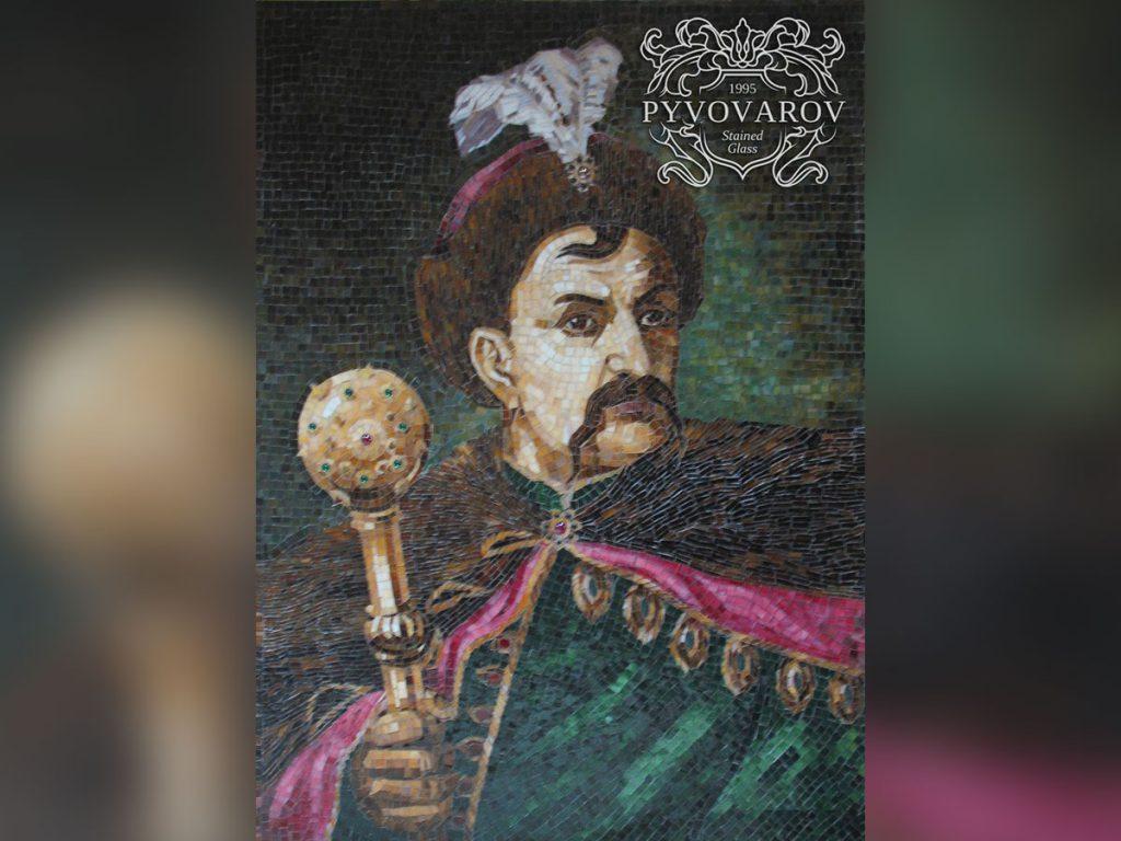 Мозаика «Богдан Хмельницкий»#M-0121