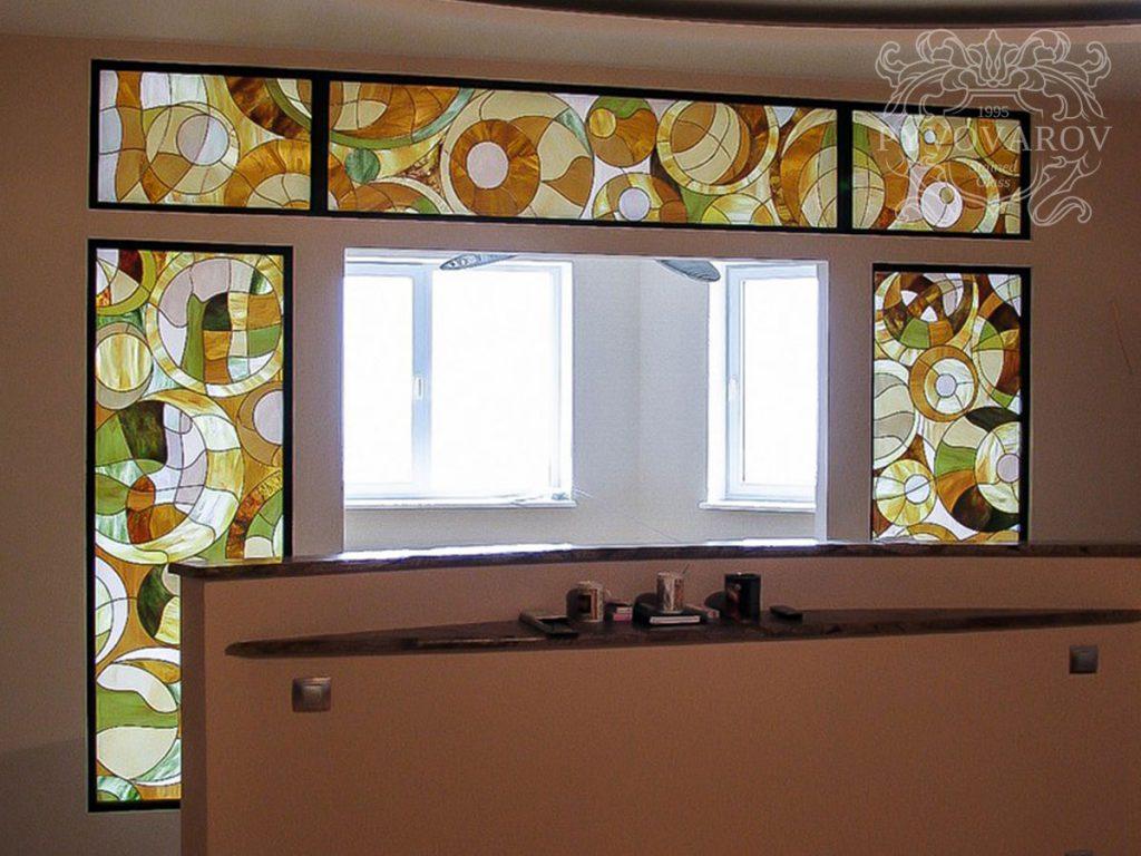 Витражное окно #VO-0104
