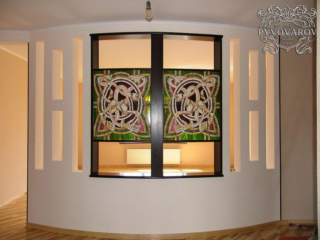 Витражное окно #VO-0105