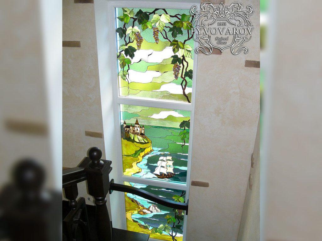 Витражное окно #VO-0114