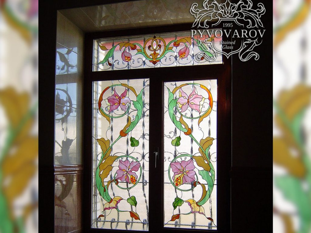 Витражное окно #VO-0124