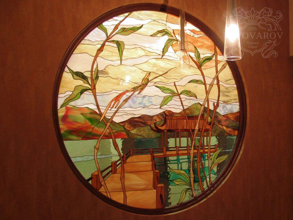 Витражное окно #VO-0131