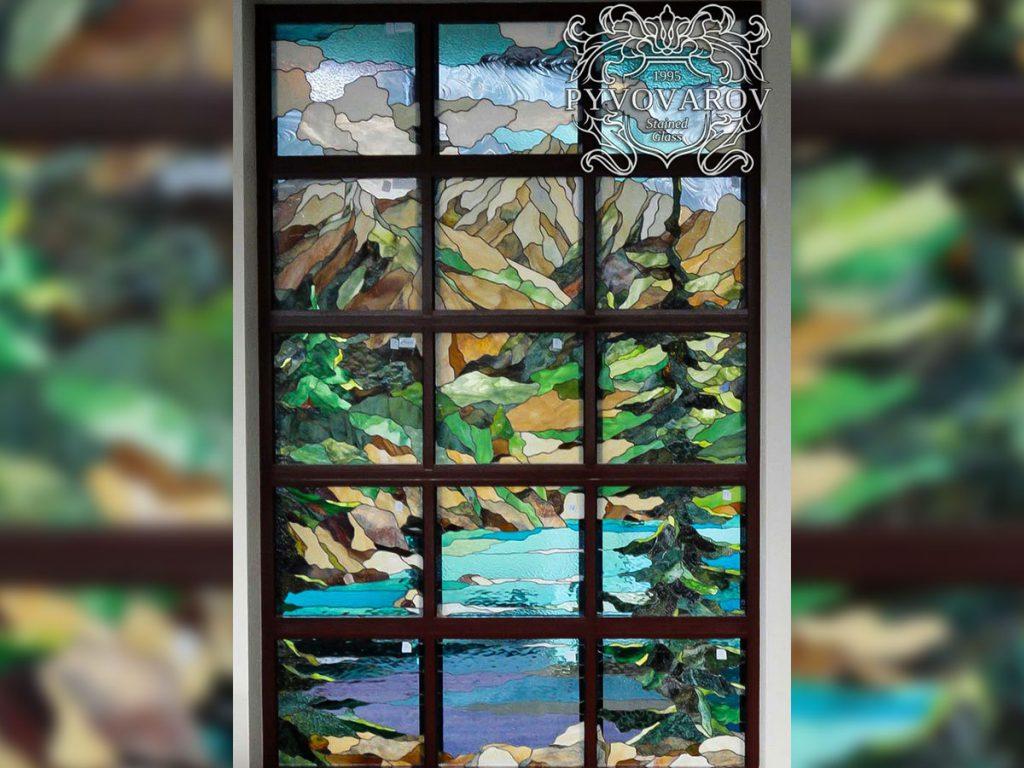 Витражное окно #VO-0140