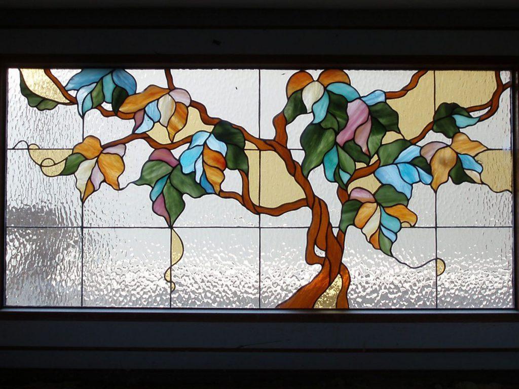 Витражное окно #VO-0146