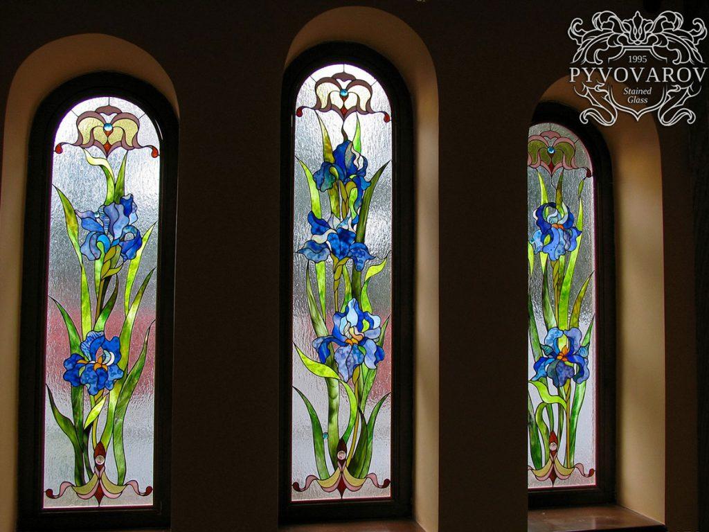 Витражное окно #VO-0150
