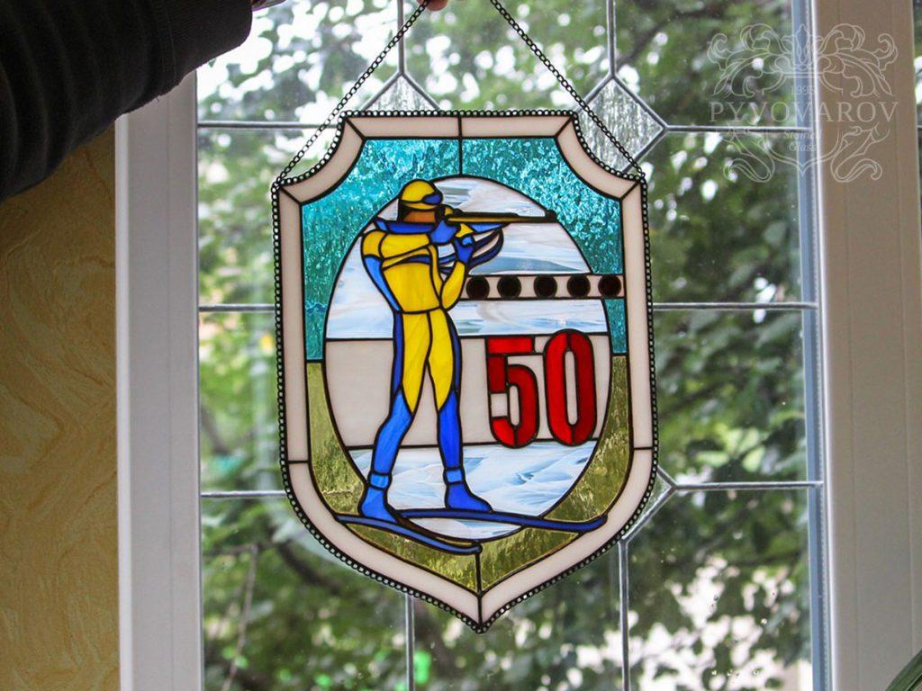 Витражное окно #VO-0233