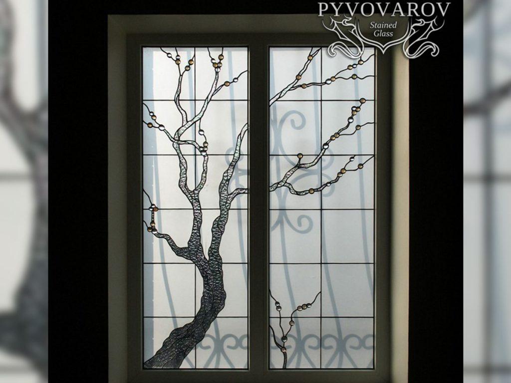 Витражное окно #VO-0241