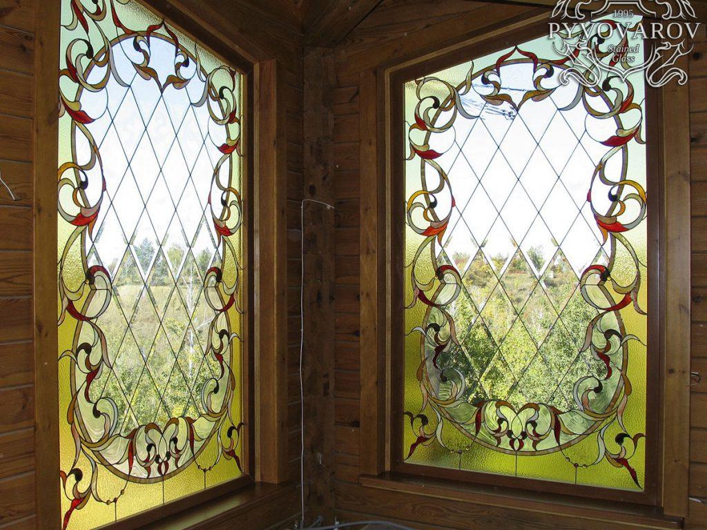 Витражное окно #VO-0246
