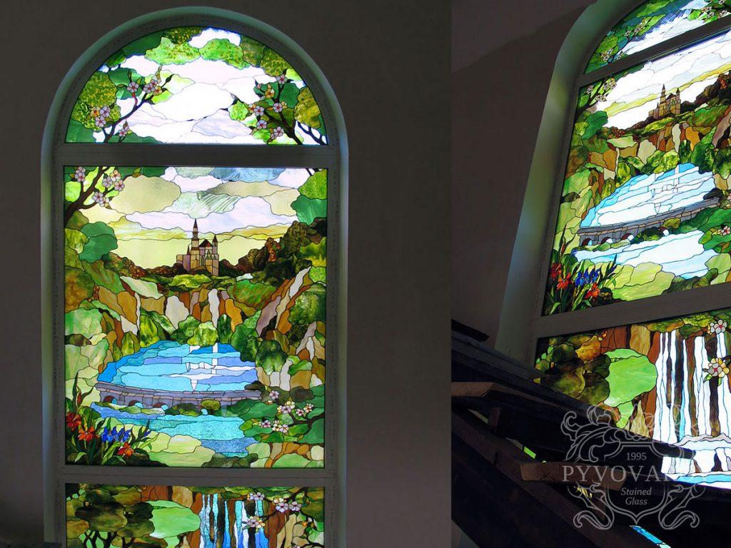Витражное окно #VO-0283