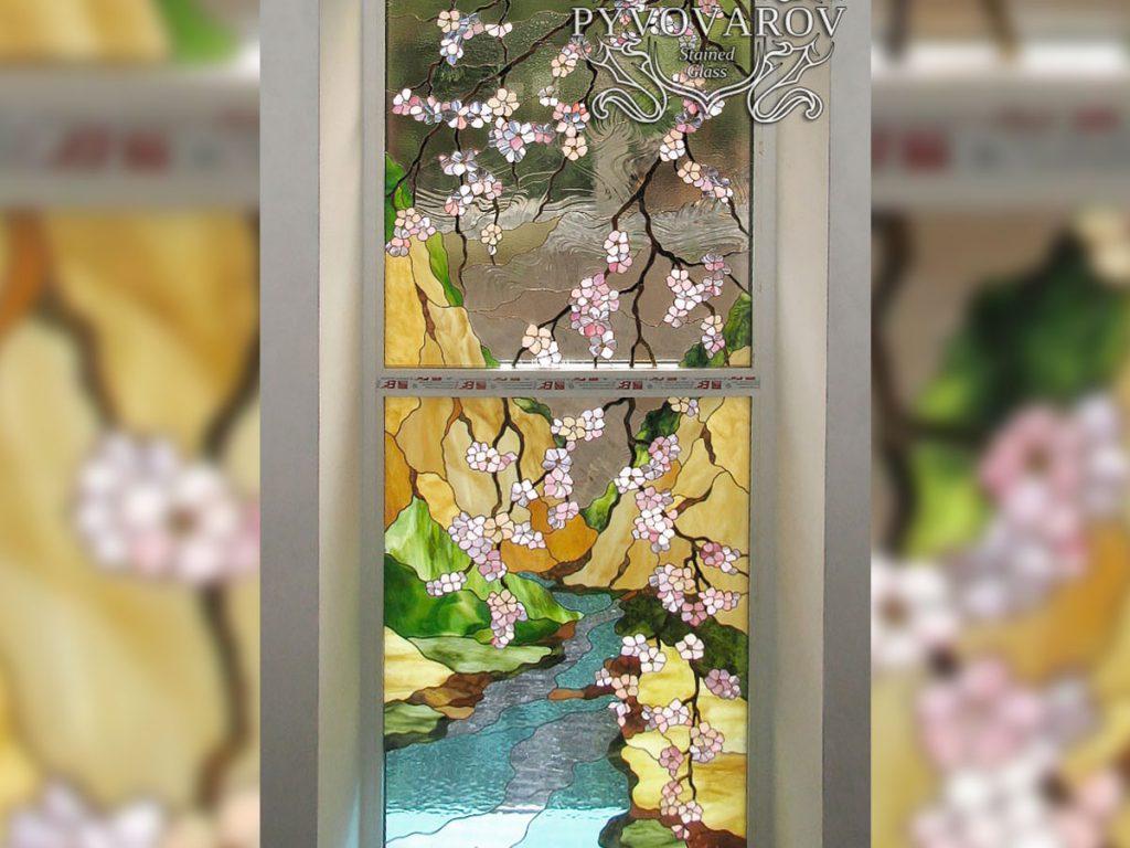 Витражное окно #VO-0284