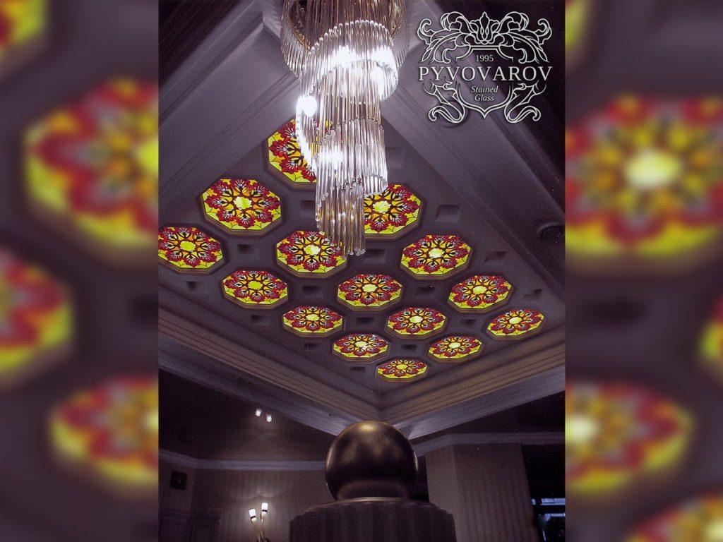 Витражный потолок #VP-1115