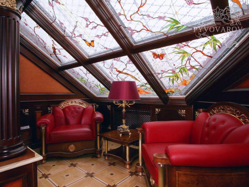 Витражный потолок #VP-0117