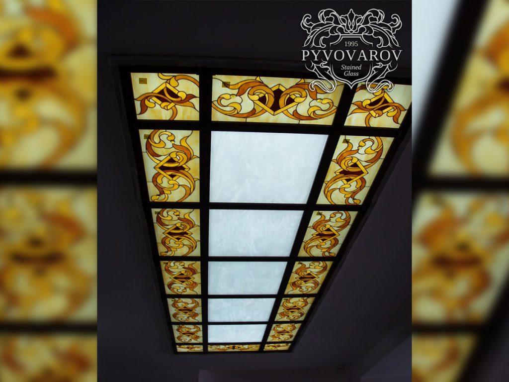 Витражный потолок #VP-0120