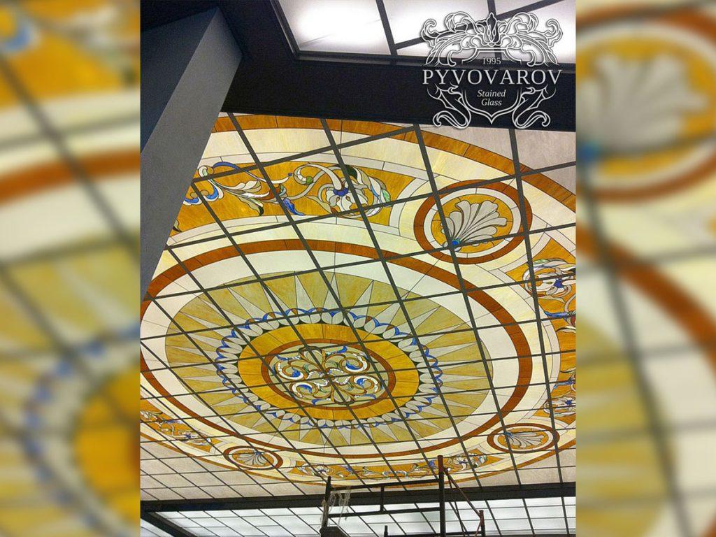 Витражный потолок #VP-0134