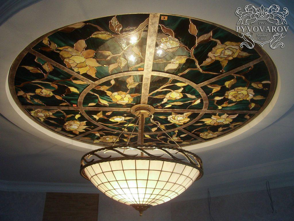 Витражный потолок #VP-0140