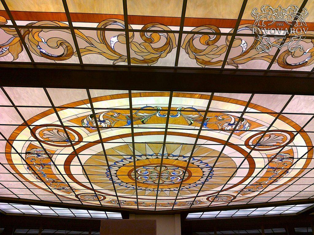 Витражный потолок #VP-0146