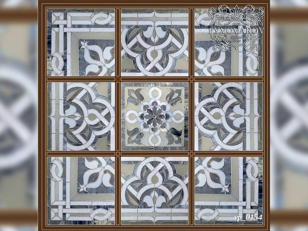 Витражный потолок #VP-0154