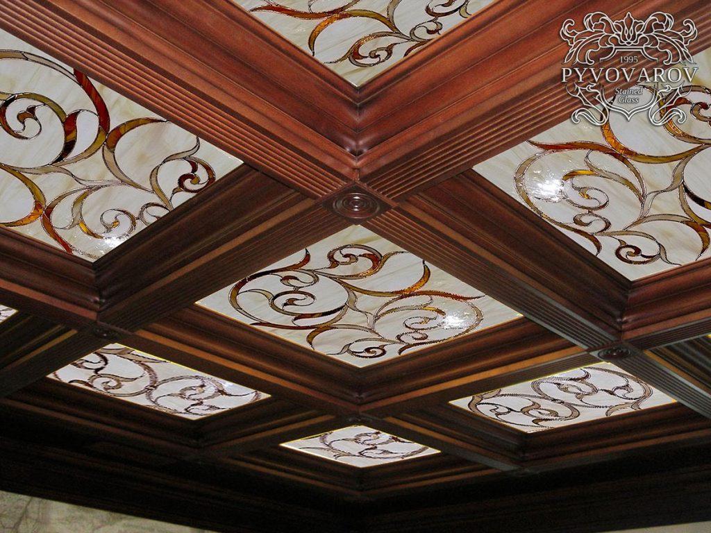 Витражный потолок #VP-0155