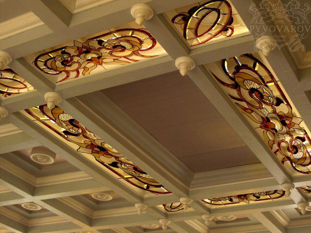 Витражный потолок #VP-0158