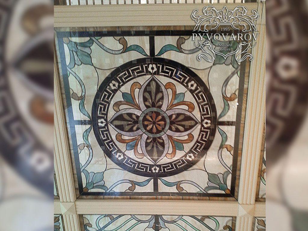 Витражный потолок #VP-0159