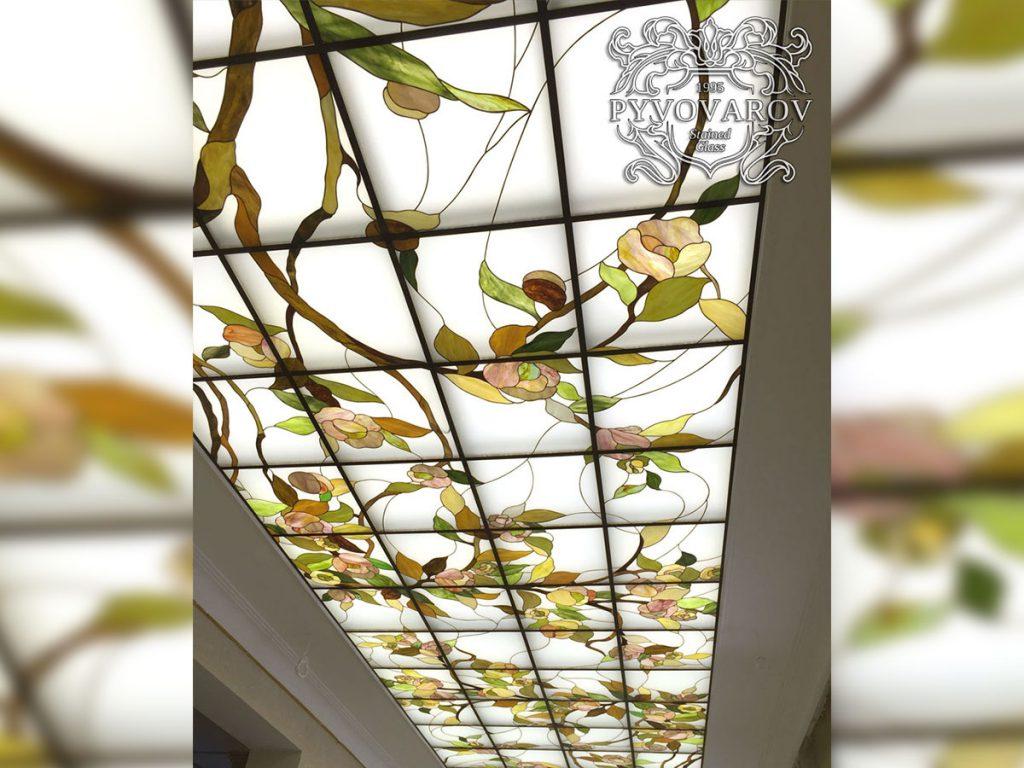 Витражный потолок #VP-0161