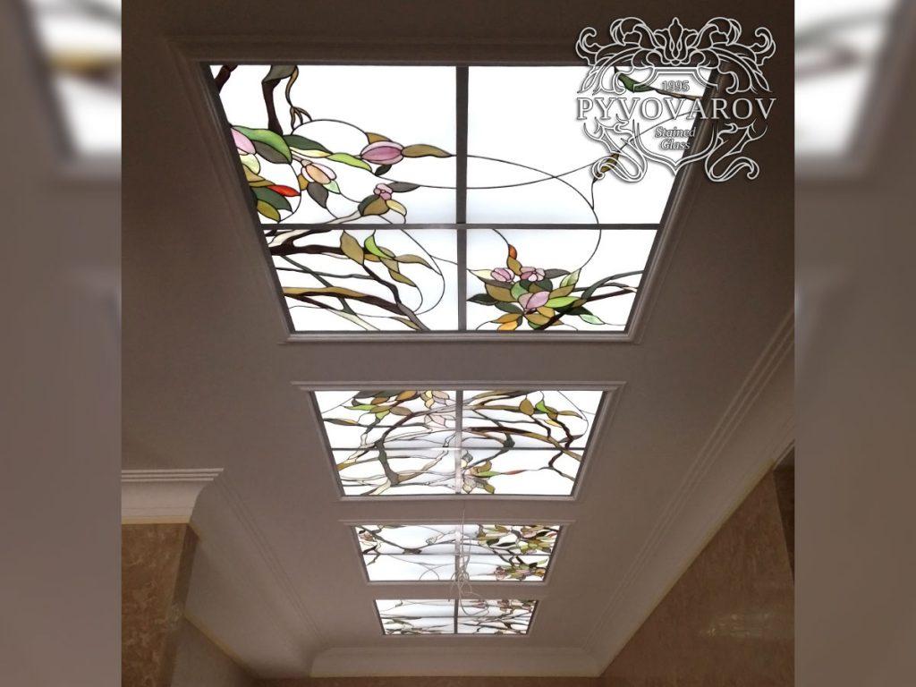 Витражный потолок #VP-0163