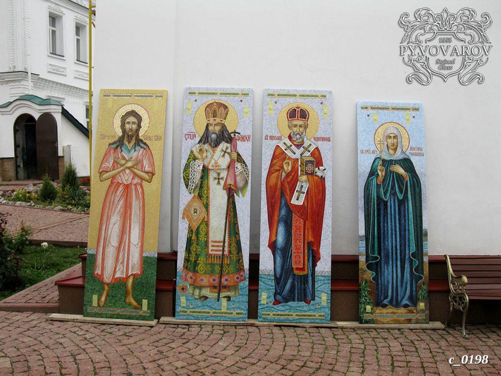 Церковная мозаика #C-0198