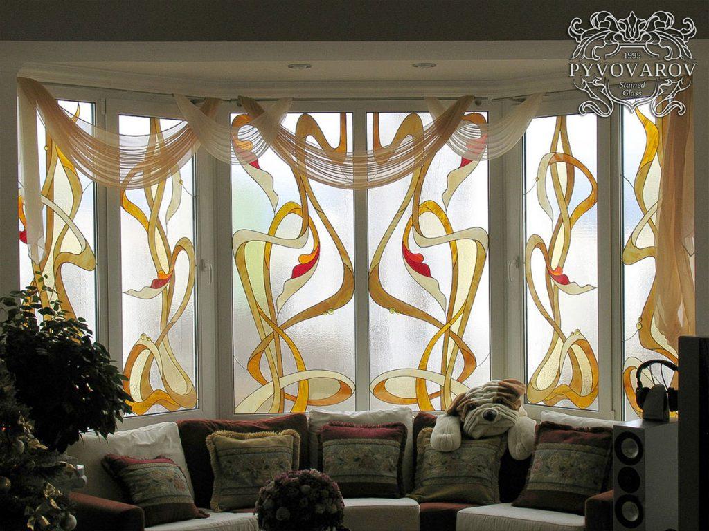 Витражное окно #VO-0116