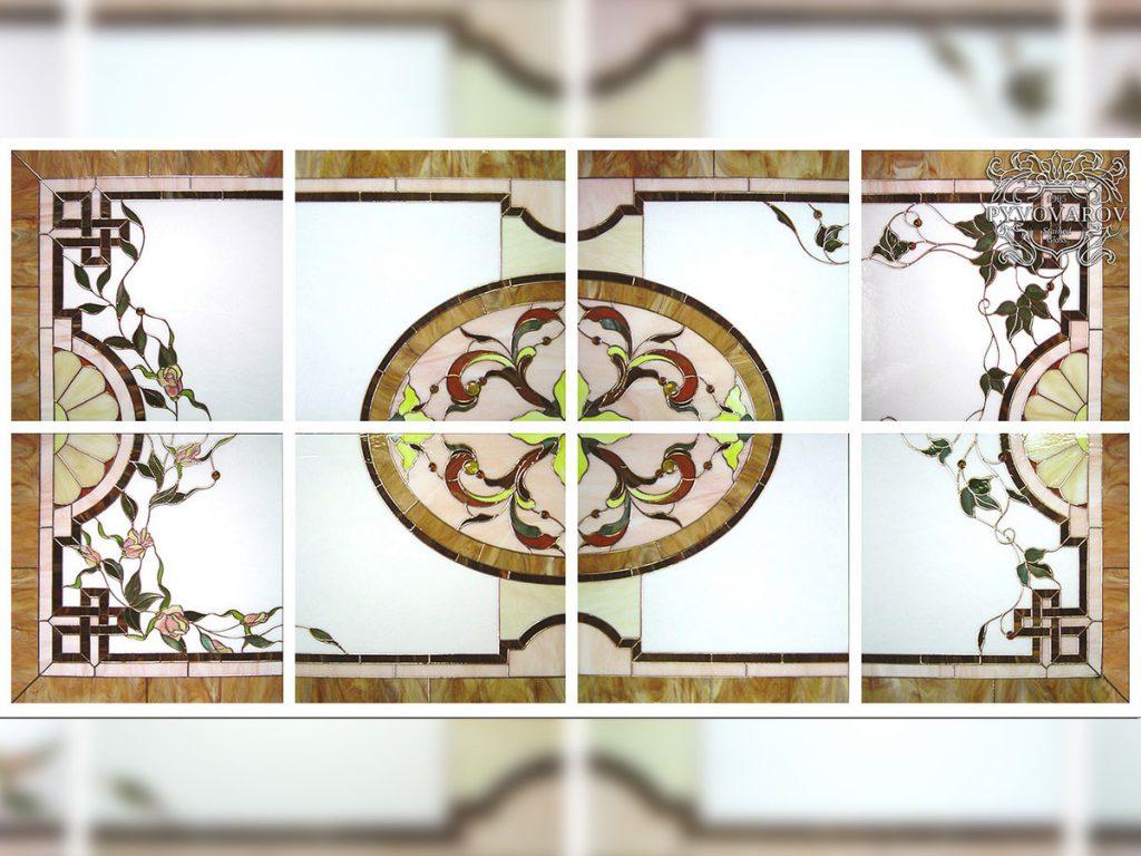 Витражный потолок #VP-0151