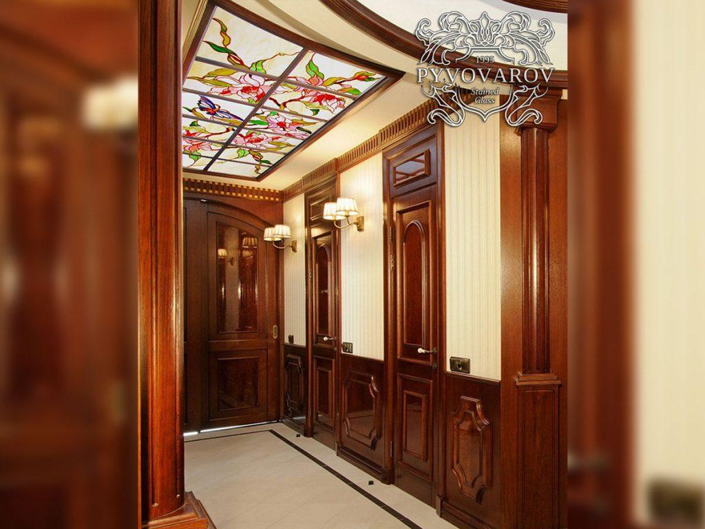 Витражный потолок #VP-0156