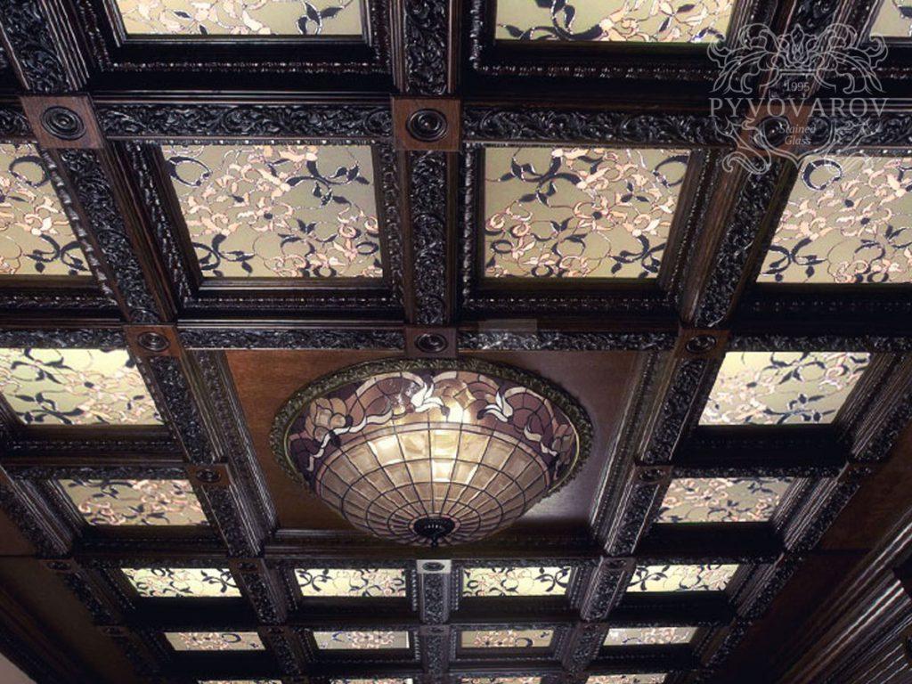 Витражный потолок #VP-0157