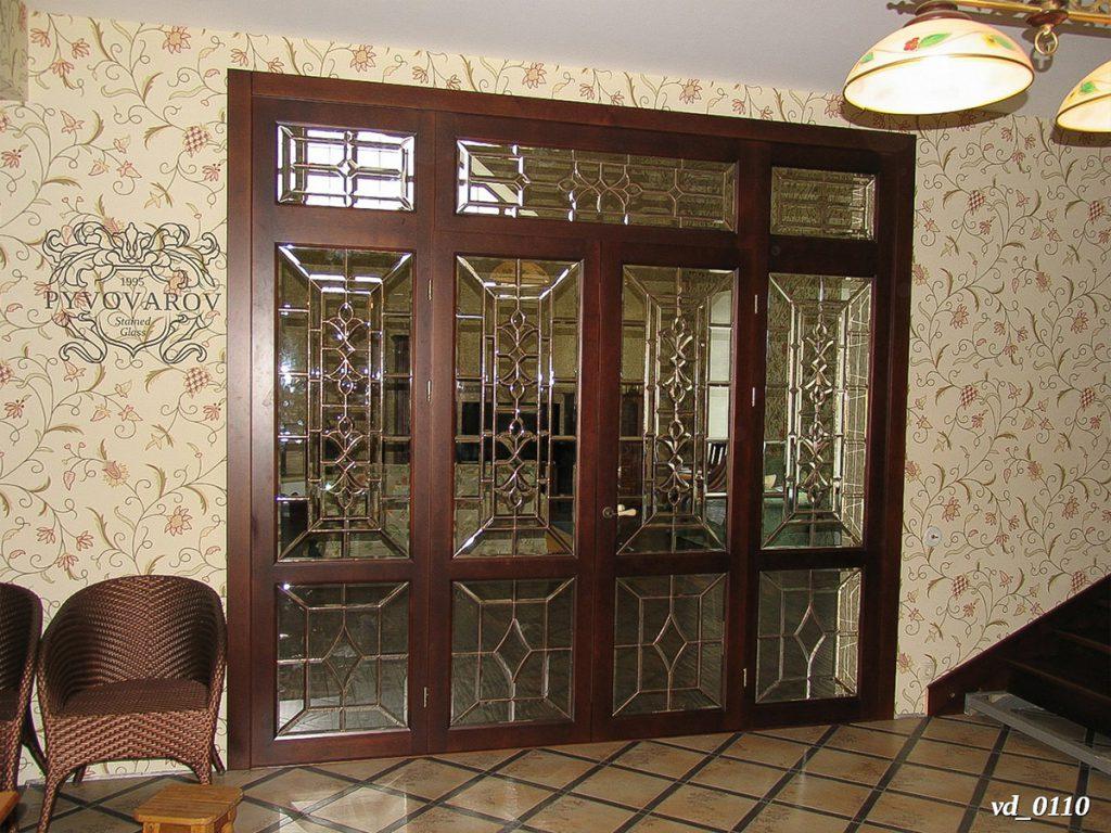 Витражная дверь #VD-0110