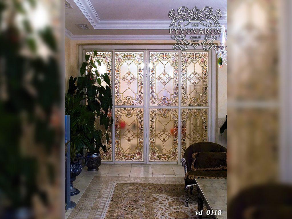 Витражная дверь #VD-0118