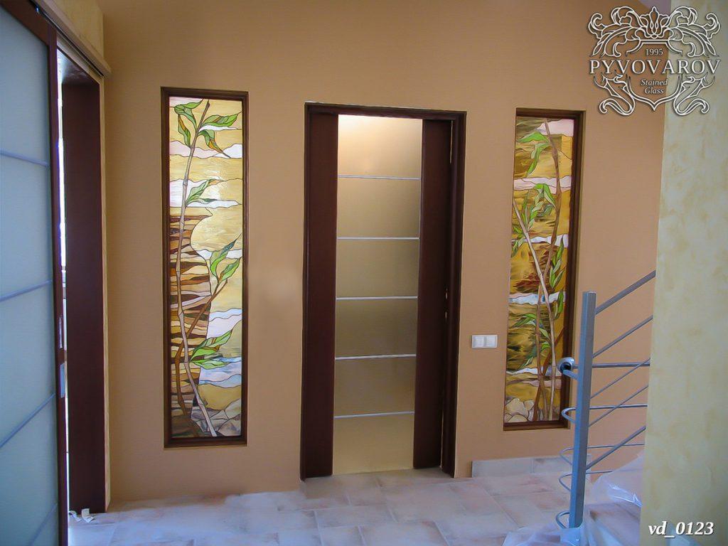 Витражная дверь #VD-0123