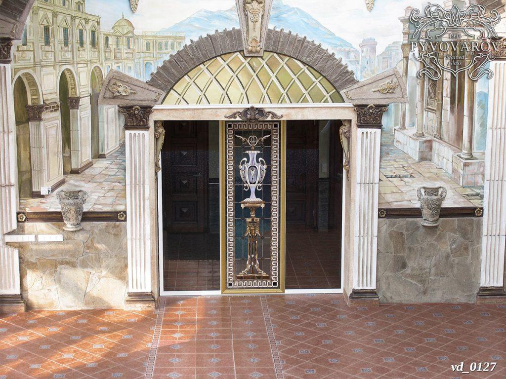 Витражная дверь #VD-0127