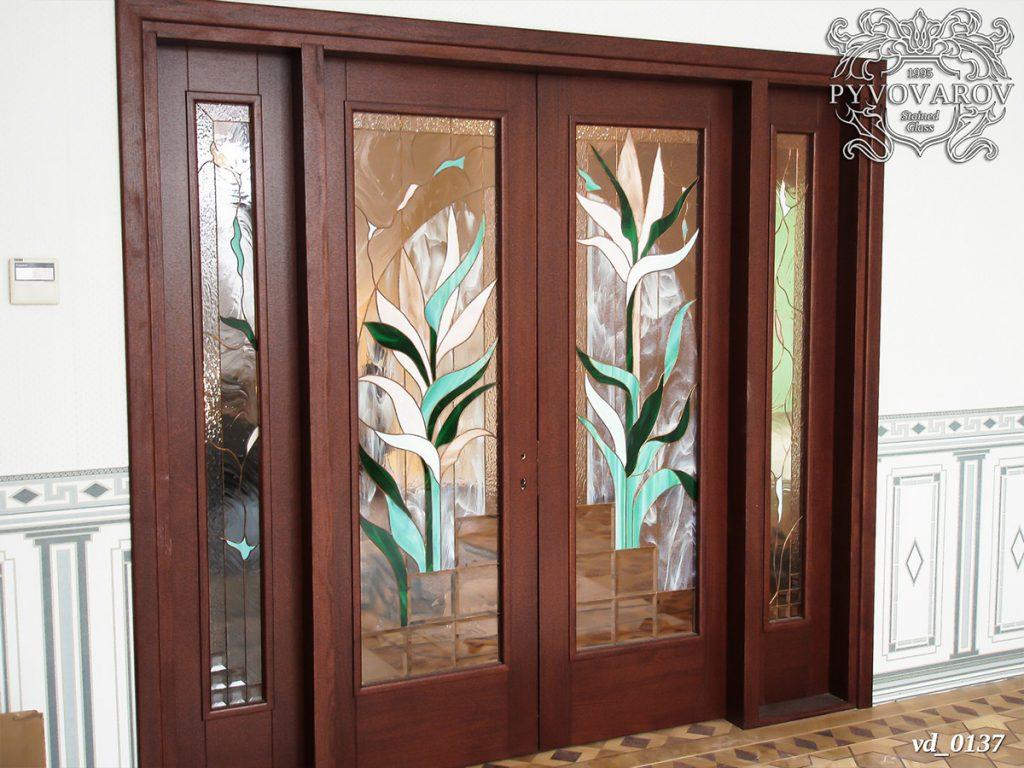 Витражная дверь #VD-0137