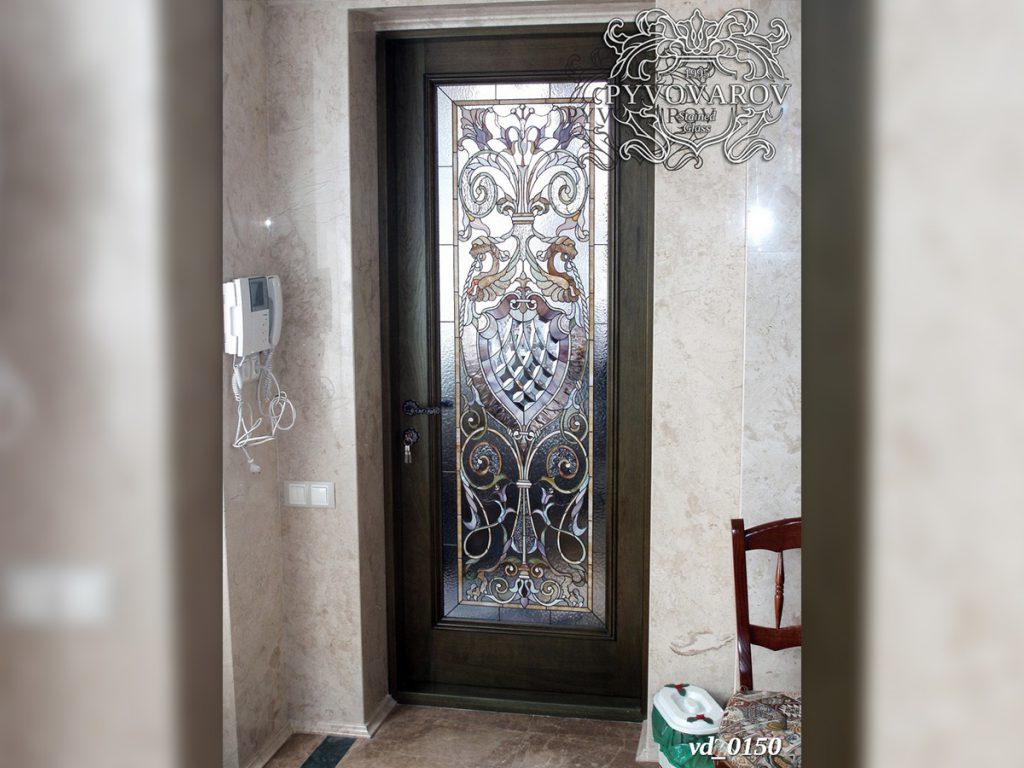 Витражная дверь #VD-0150