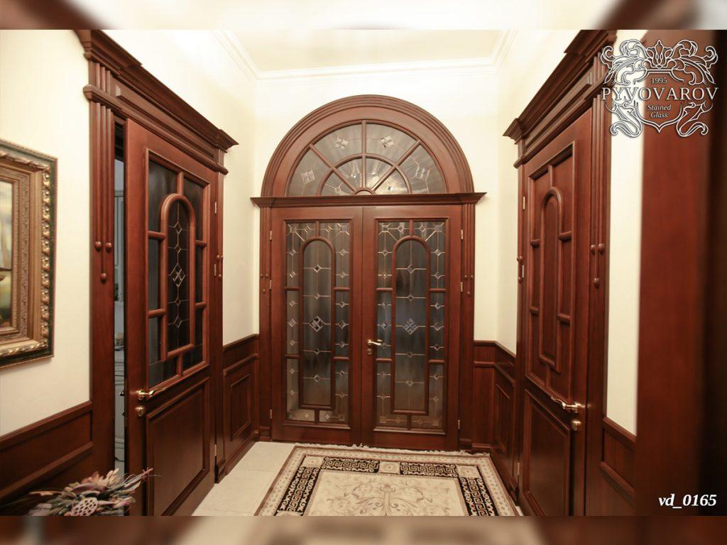 Витражная дверь #VD-0165