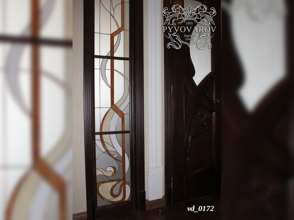 Витражная дверь #VD-0172