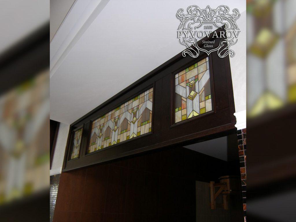 Витражная дверь #VD-0214