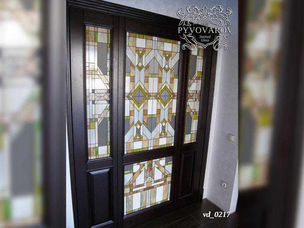 Витражная дверь #VD-0217