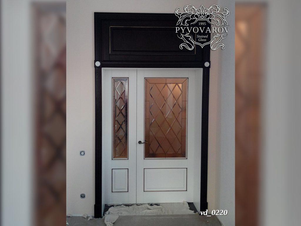 Витражная дверь #VD-0220