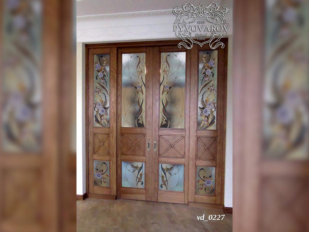 Витражная дверь #VD-0227