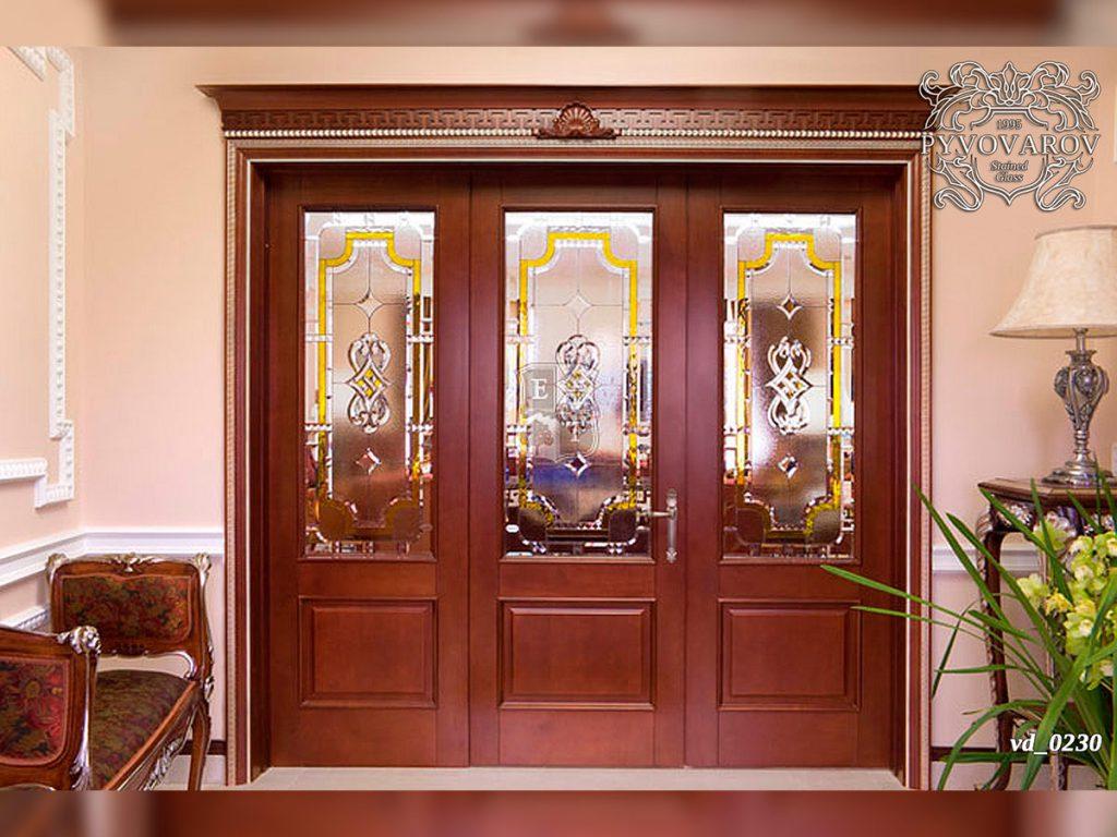 Витражная дверь #VD-0230