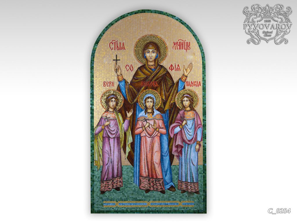 церковная мозаика