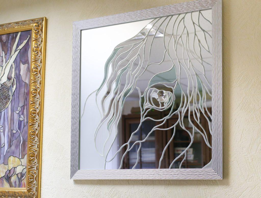 зеркало лошадь