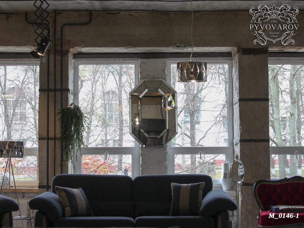 Зеркало «Объем» #M-0146