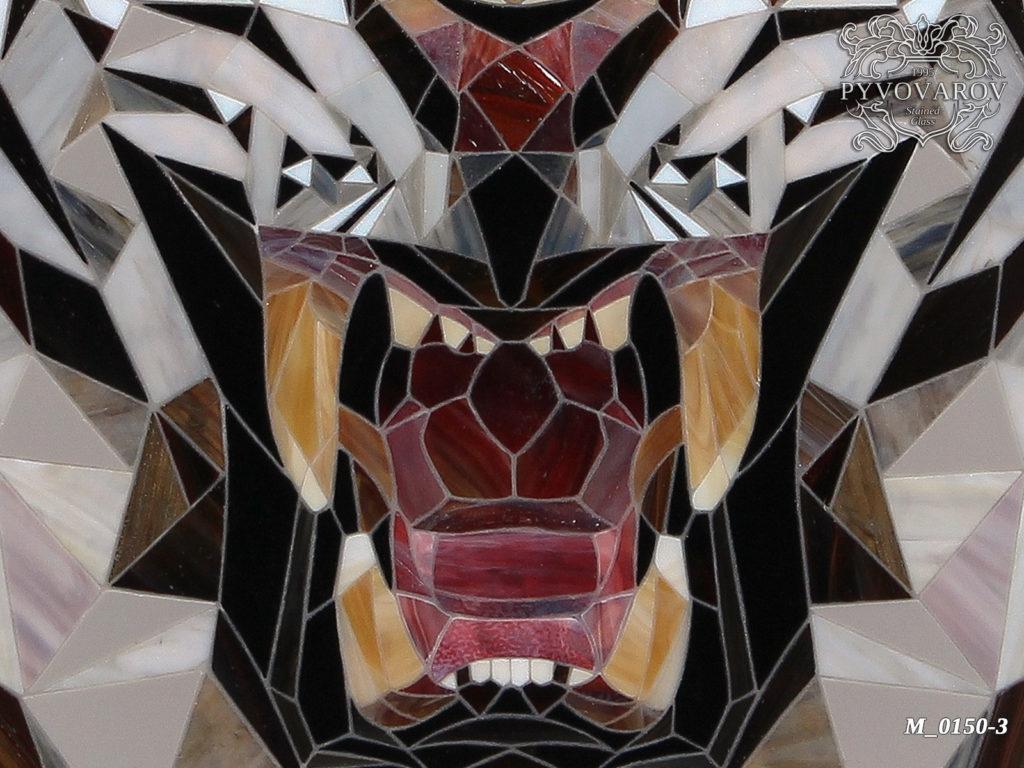 Мозаика «Тигр» #M-0150